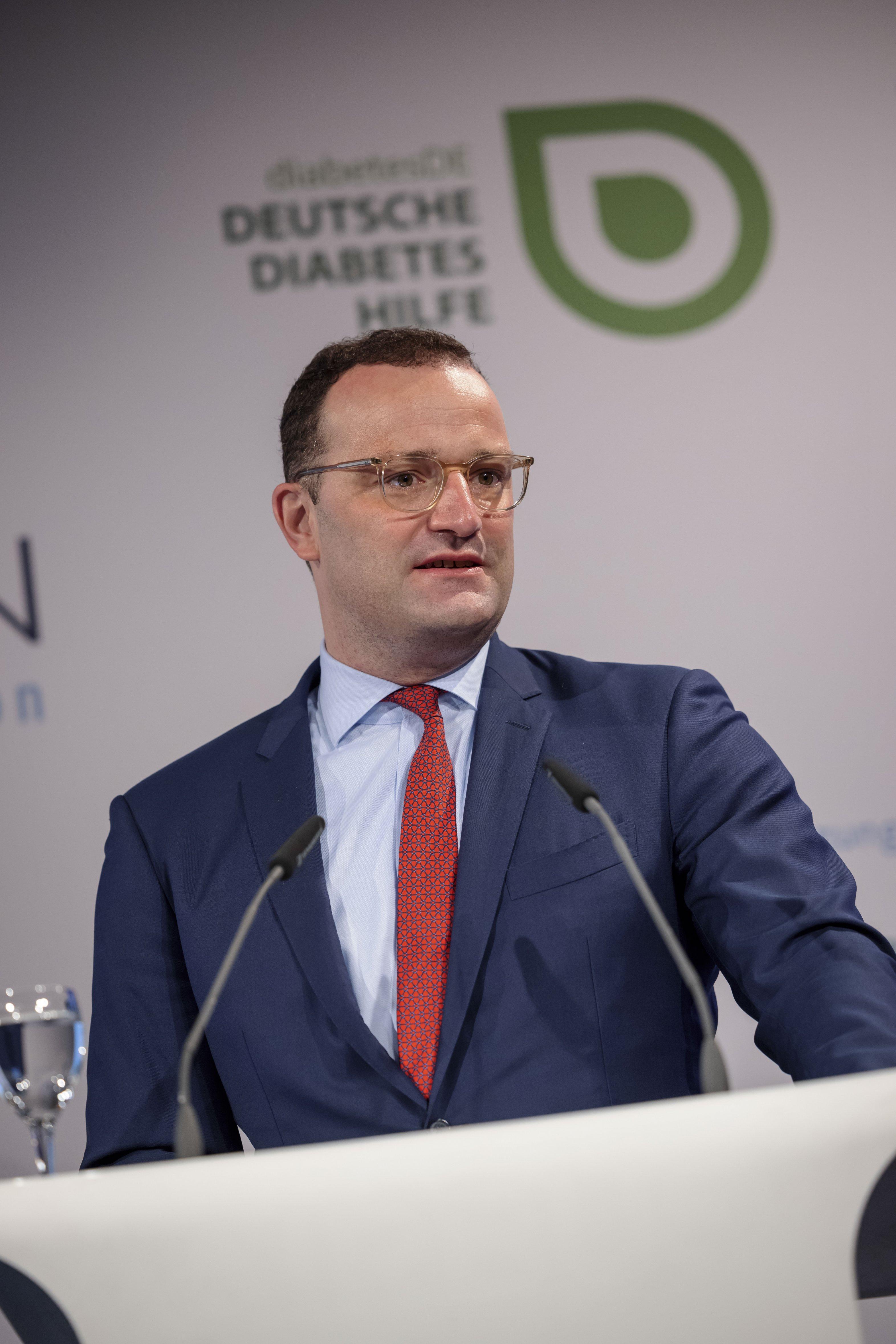 Event 100 Jahre Insulin: Grußwort Jens Spahn