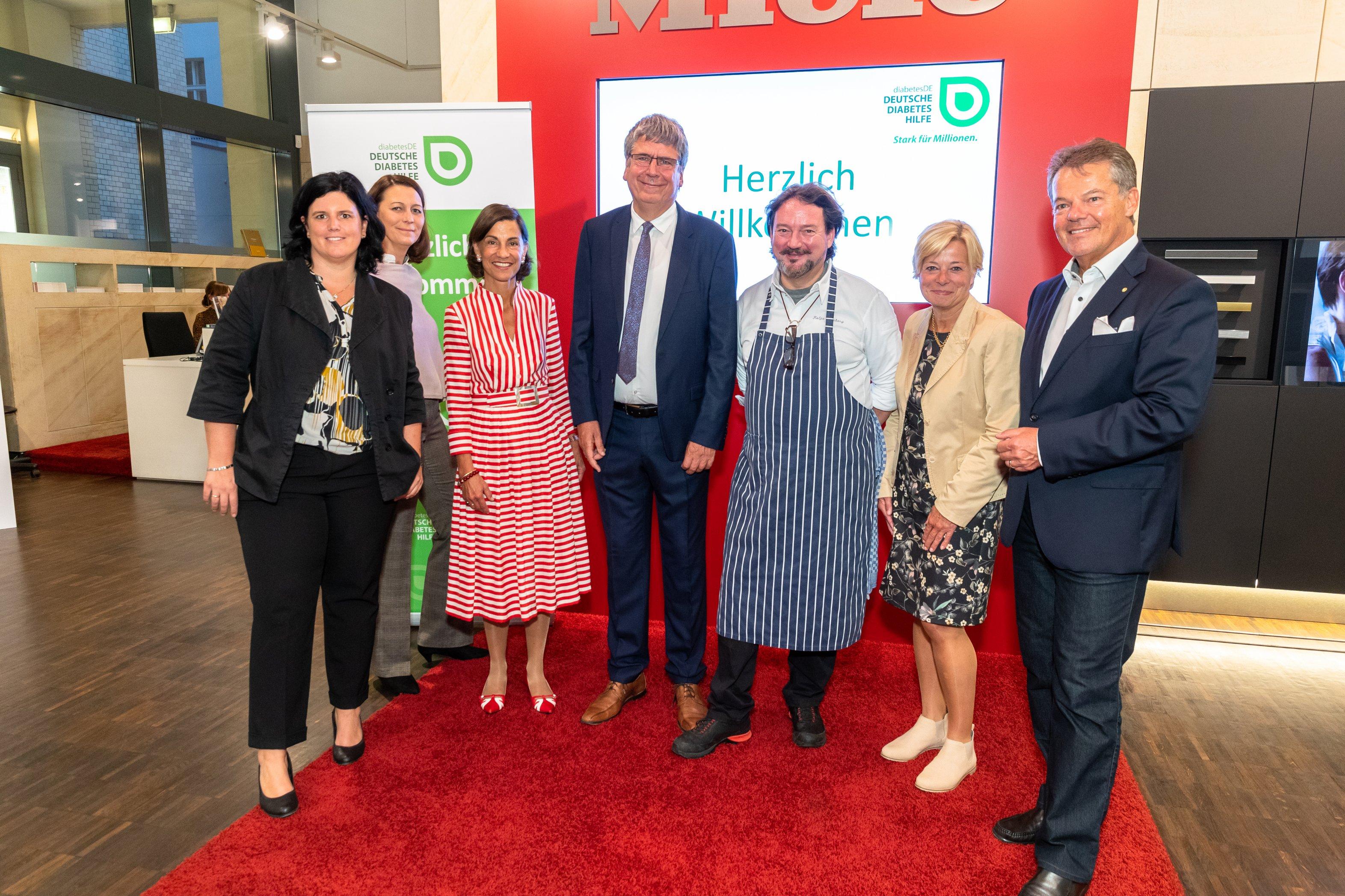 Parlamentarisches Kochen 26.09.2019: Gruppenbild