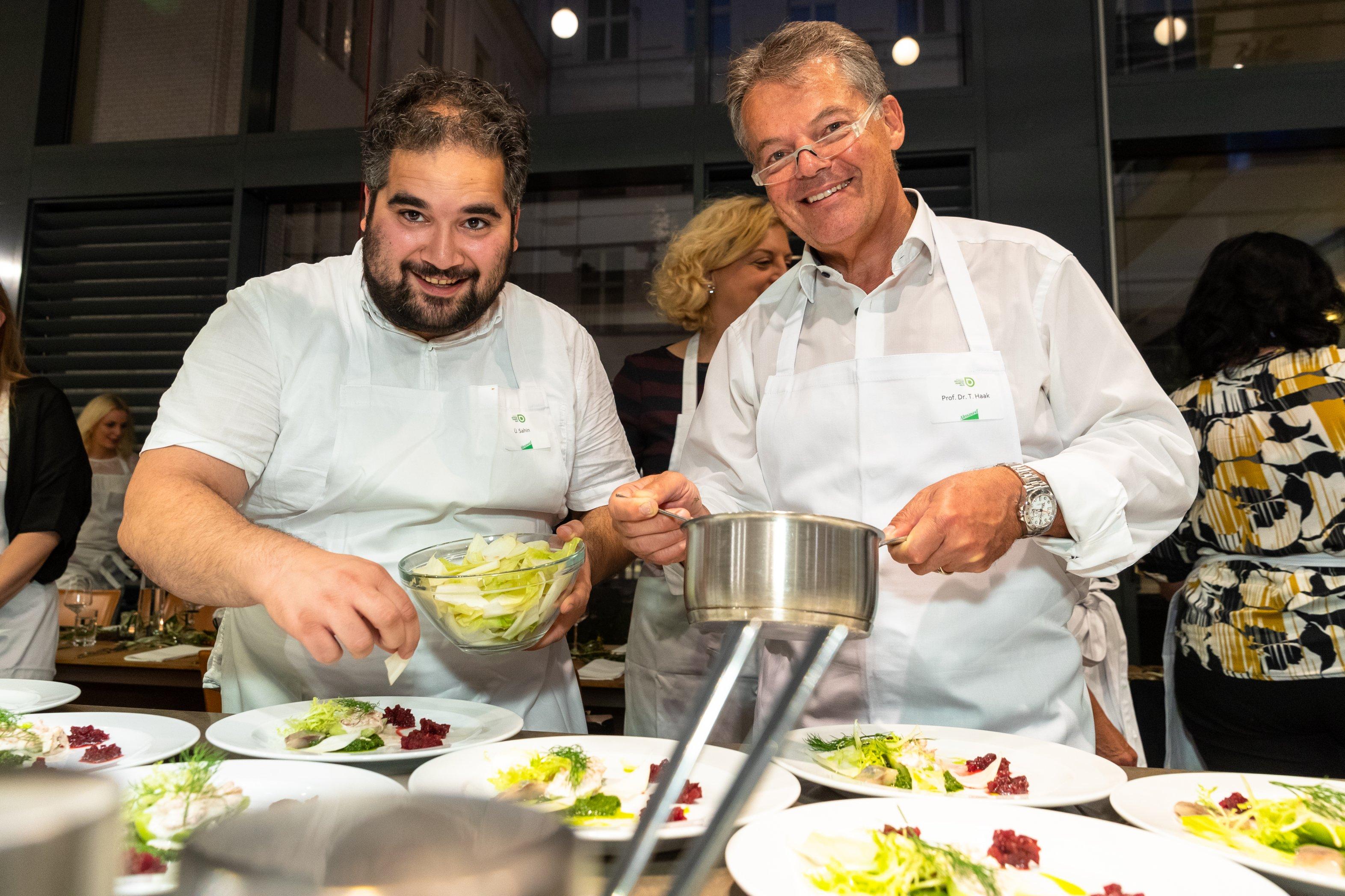 Parlamentarisches Kochen am 26.09.2019: Sahin und Haak