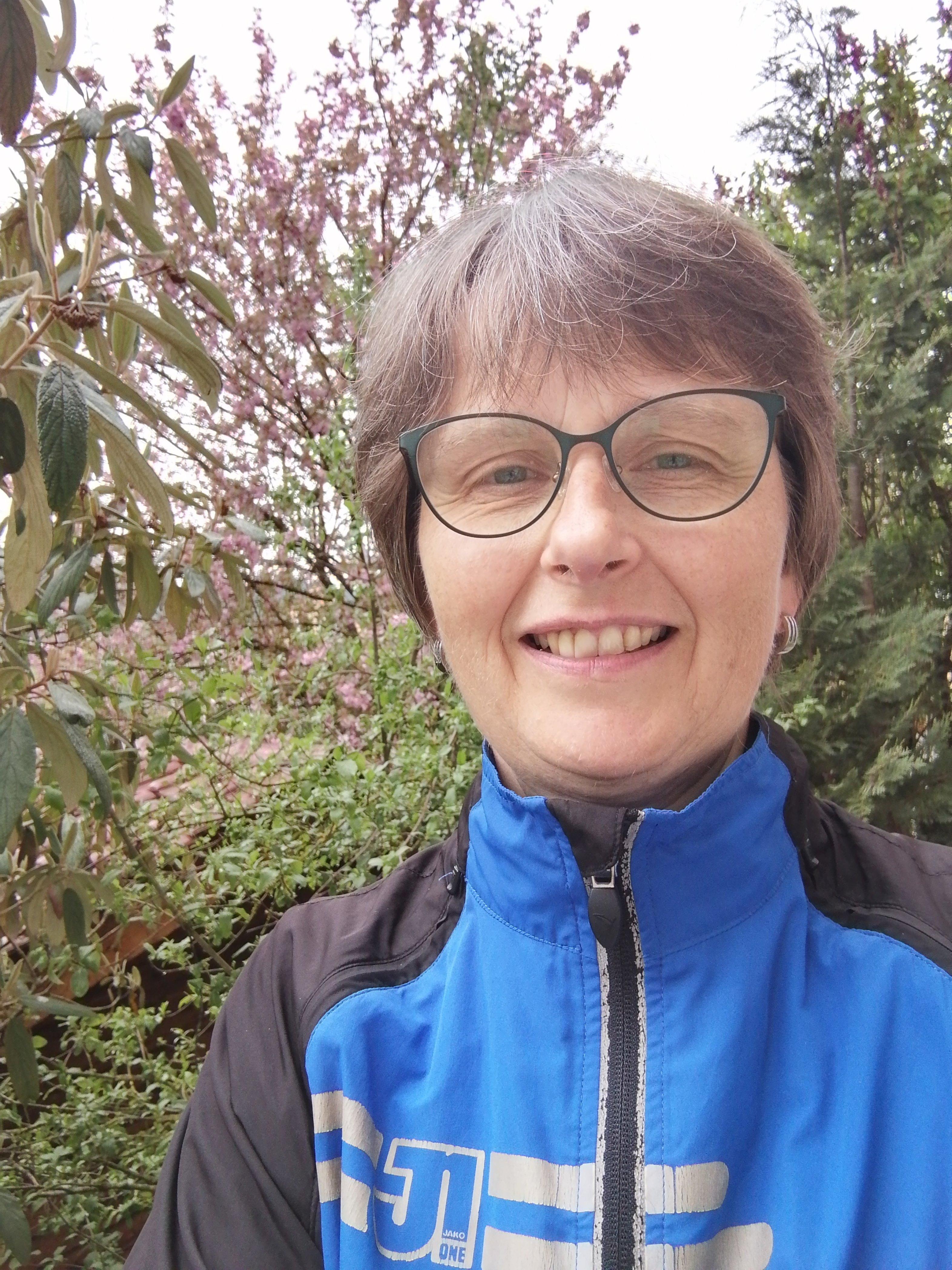 Birgit Quenzer beim Diabetes-Lauf