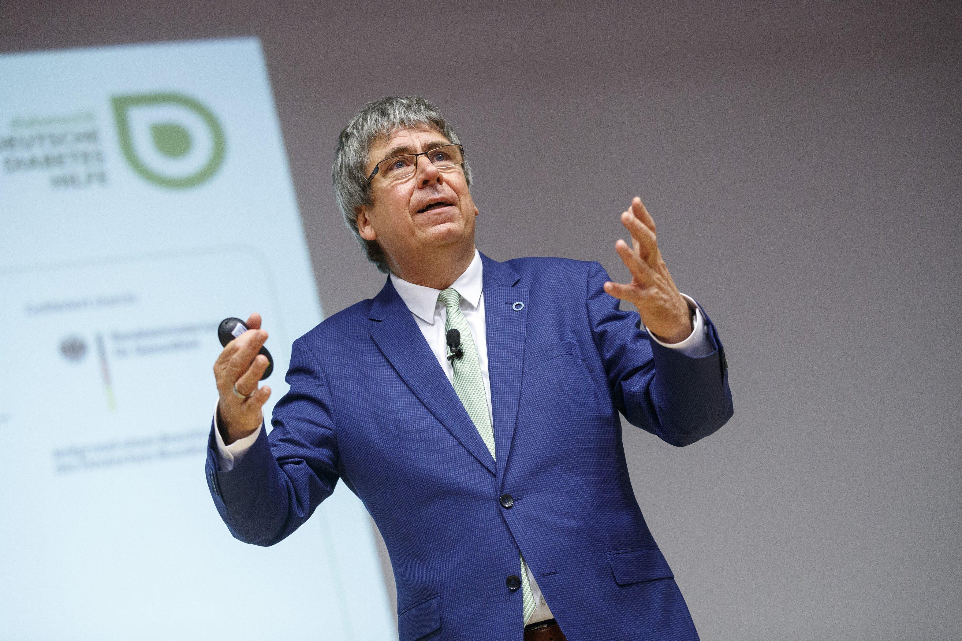 Eröffnung mit Dr. Jens Kröger am Weltdiabetestag 2017