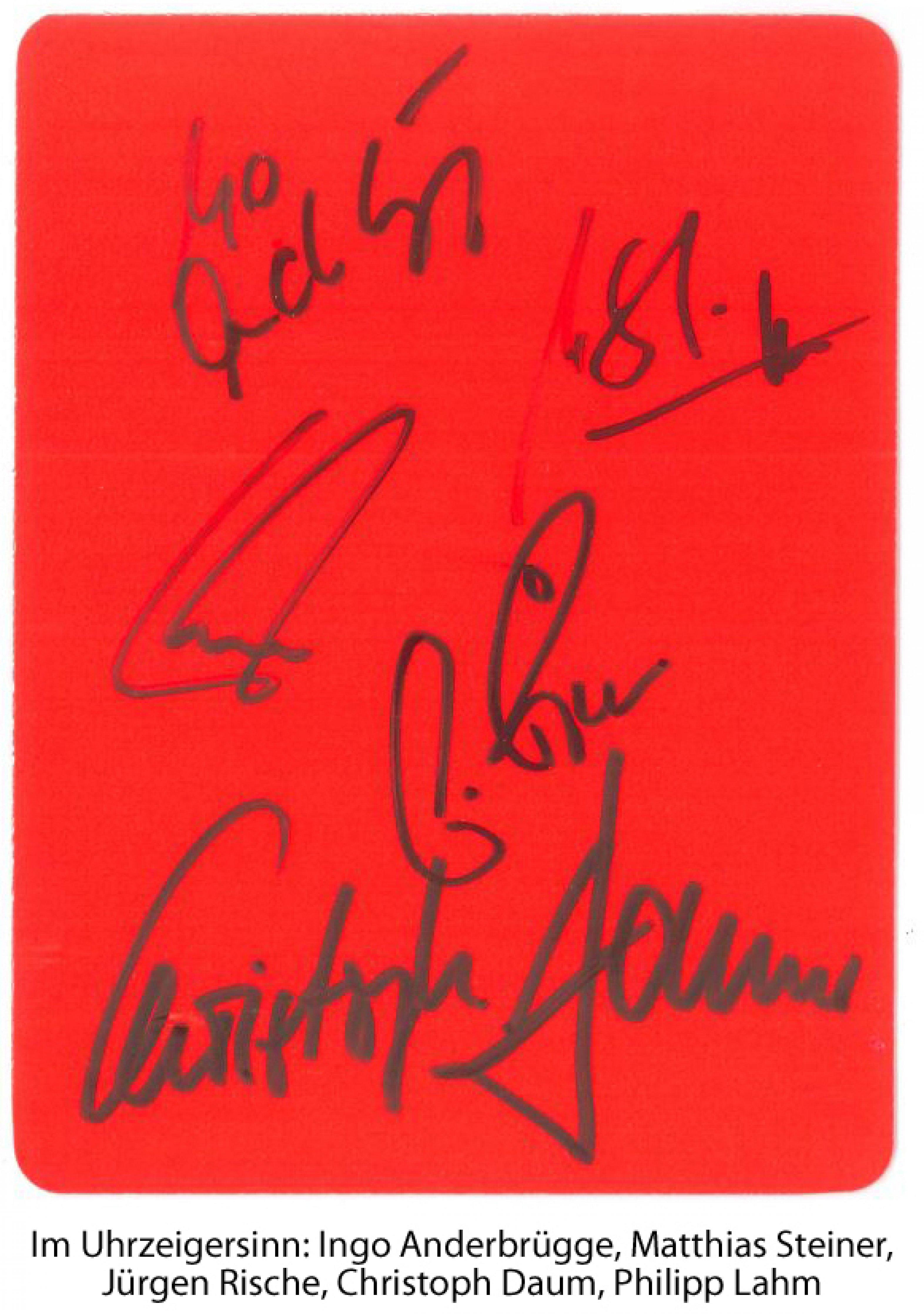 Rote Karte für den Gesundheitsausschuss