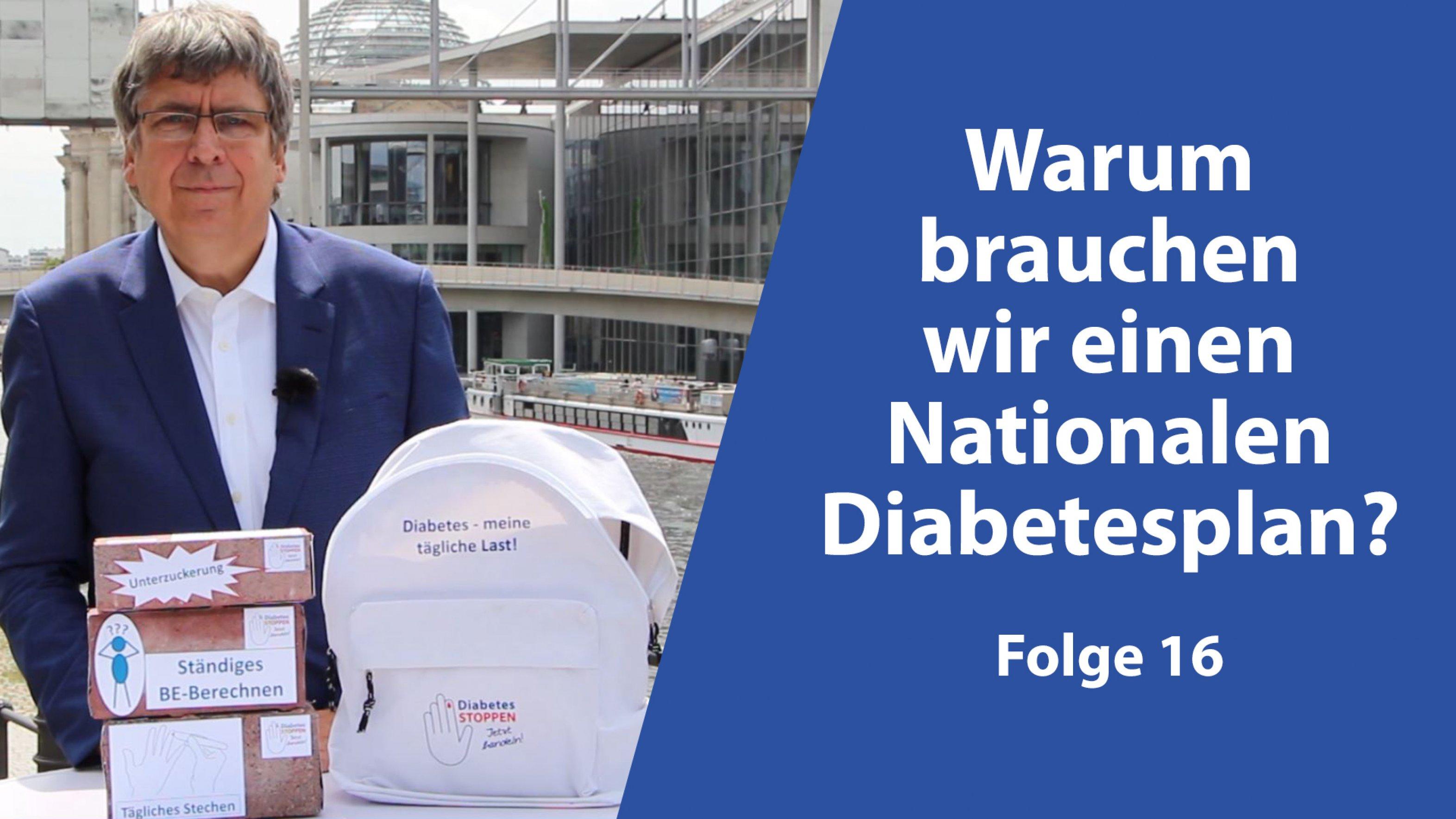 """Bild Videoreihe """"Nationalen Diabetesplan – warum?"""""""