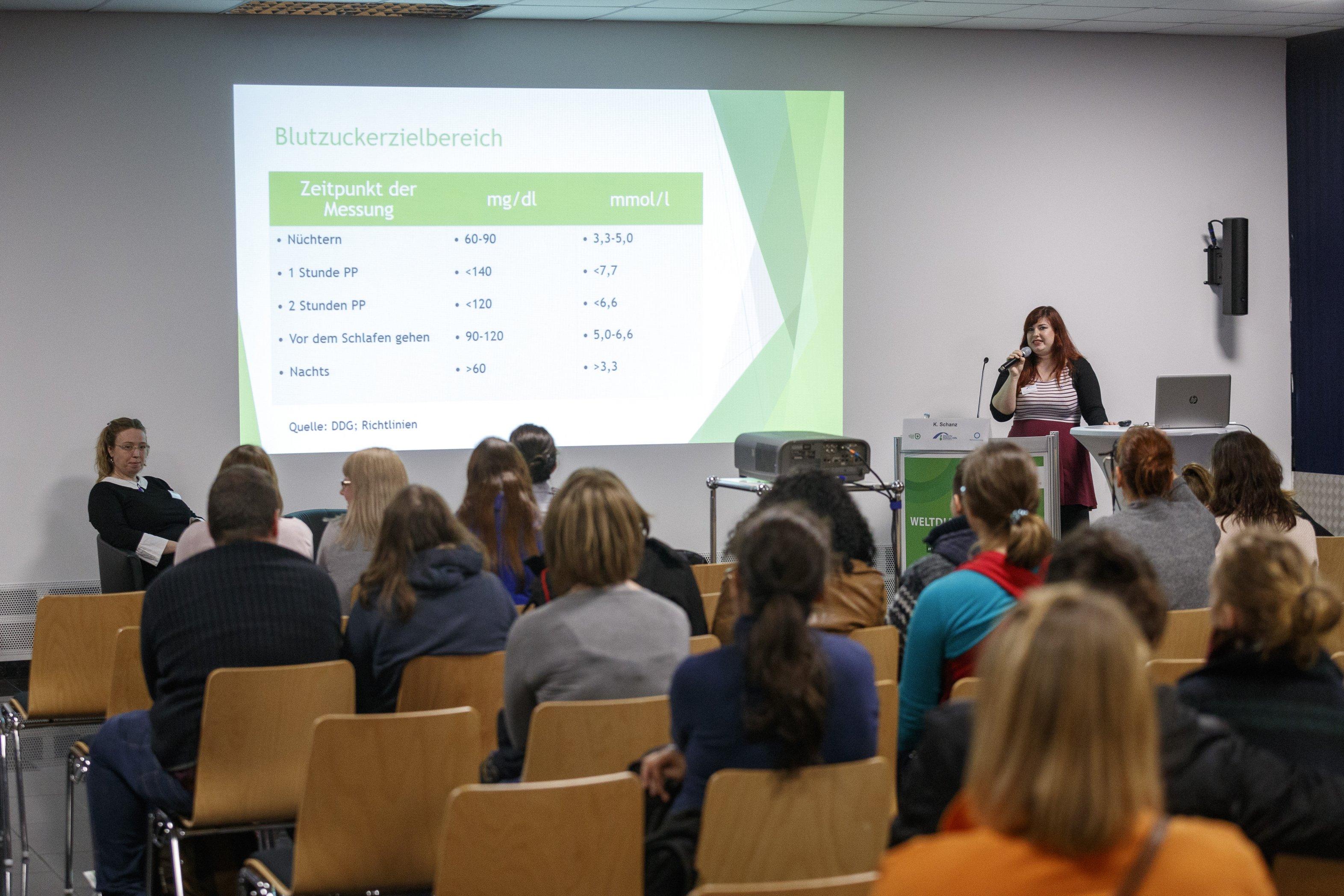 Volle Säle bei den Vorträgen beim Weltdiabetestag 2017