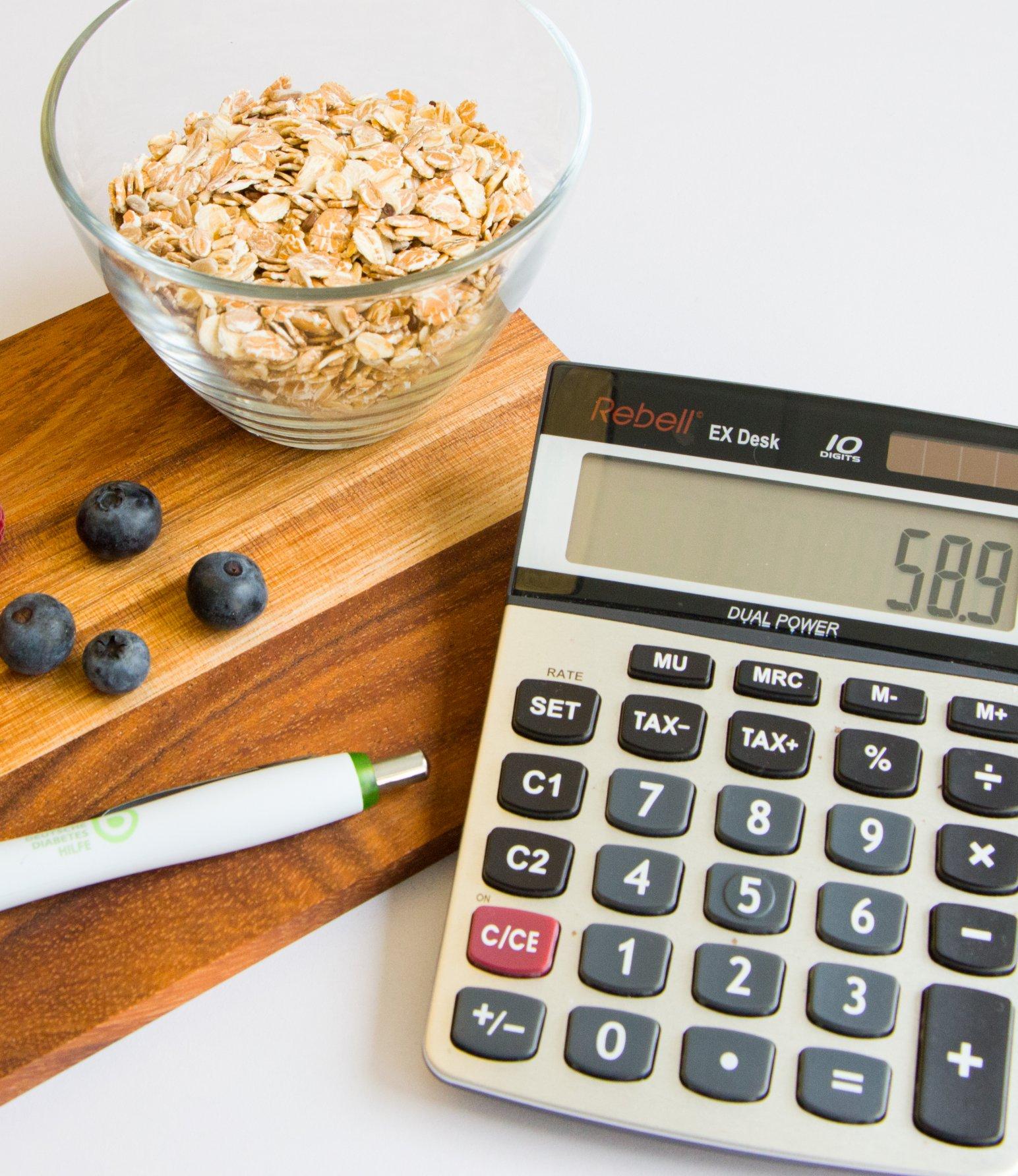 Blutzucker nach dem Essen messen - Taschenrechner