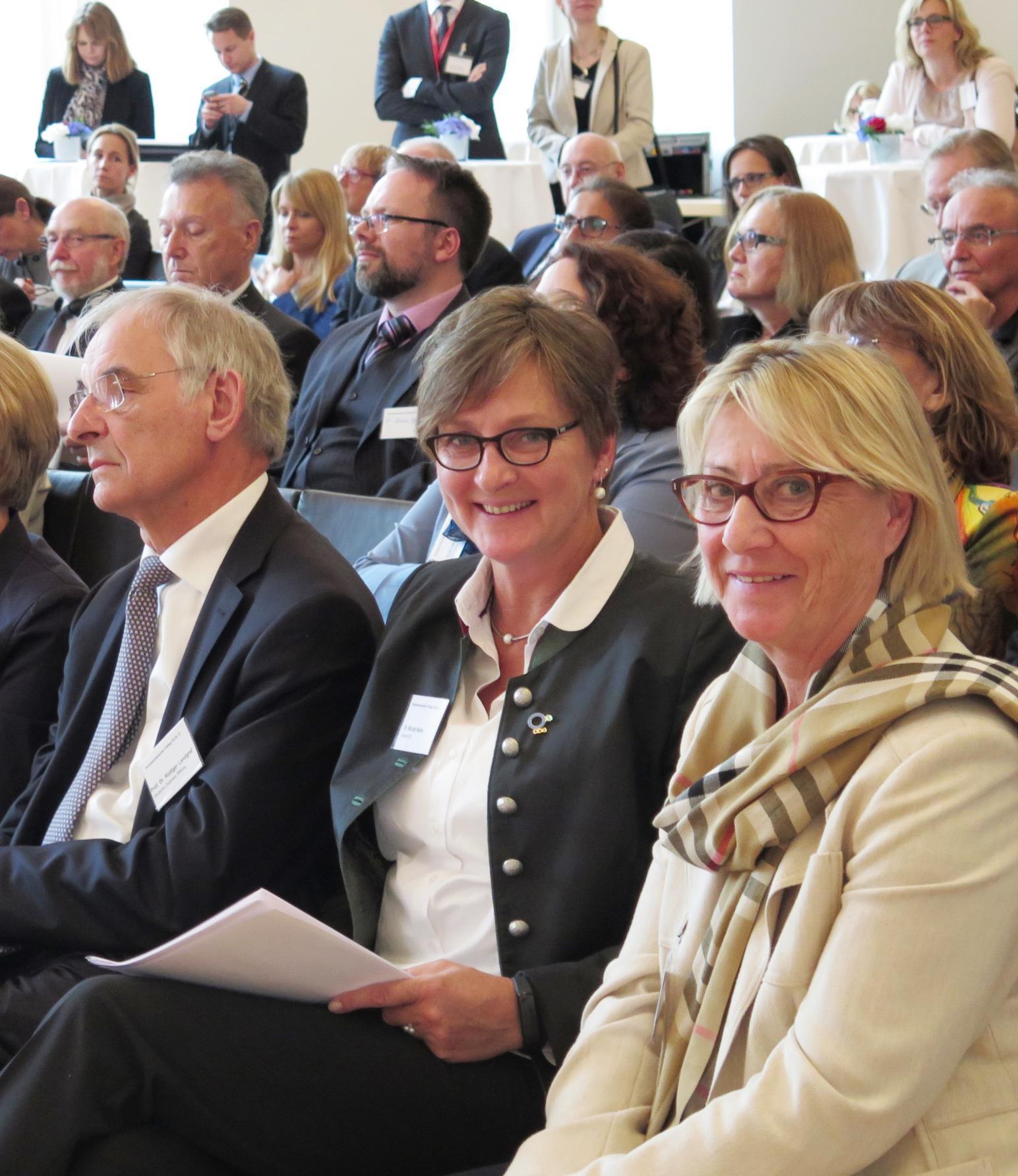 Nicola Haller und Jutta Schümann beim Dänisch-Bayerischen Dialog