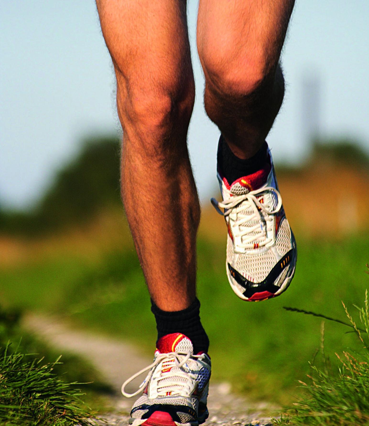 Lauftraining Laufen Beine Weg