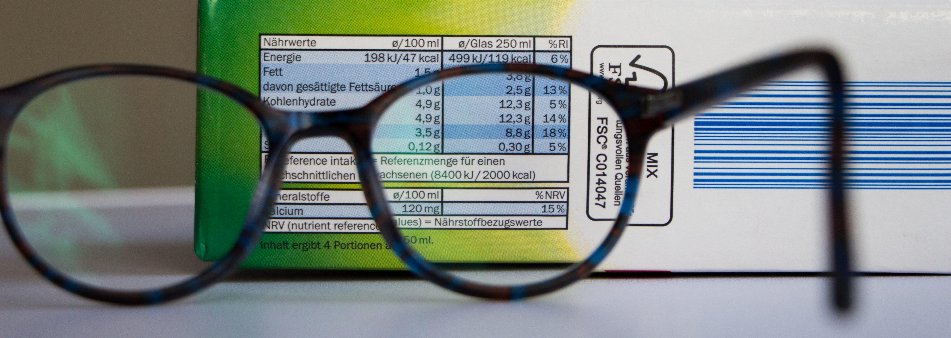 Ernährungsdetektiv - Brille, Verpackung