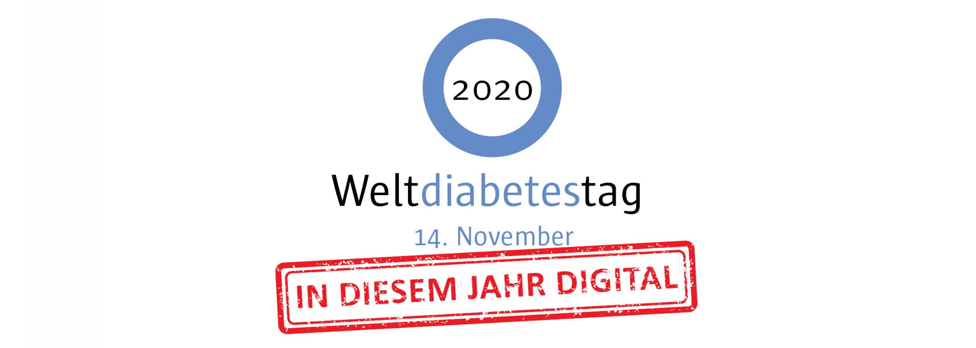Logo Weltdiabetestag 2020 Hero-Bild