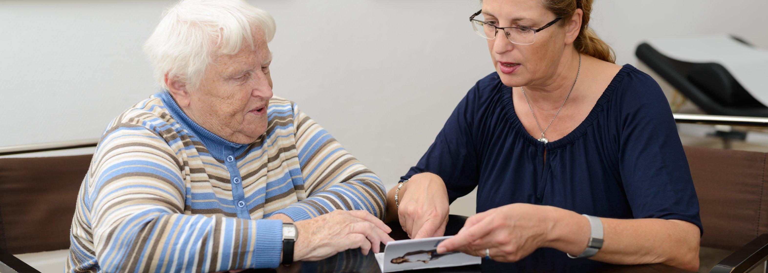 Beratung beim Arzt oder Diabetesberater