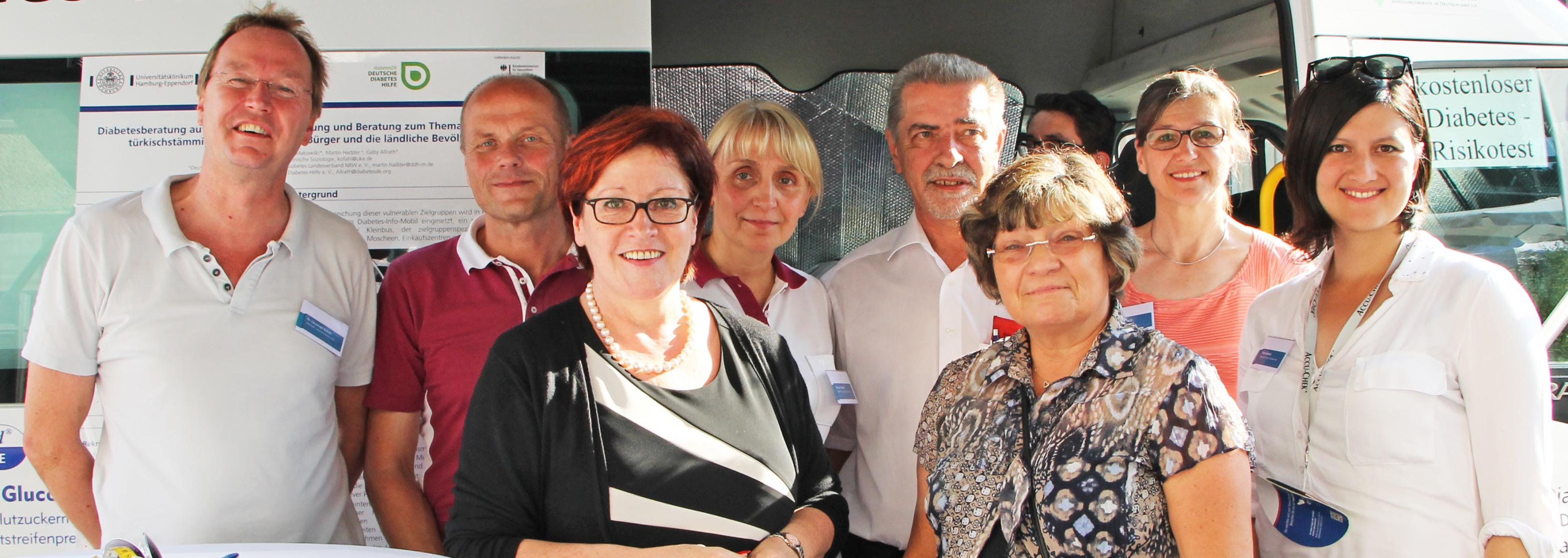 Diabetes-Mobil Berlin Gruppenbild 2015