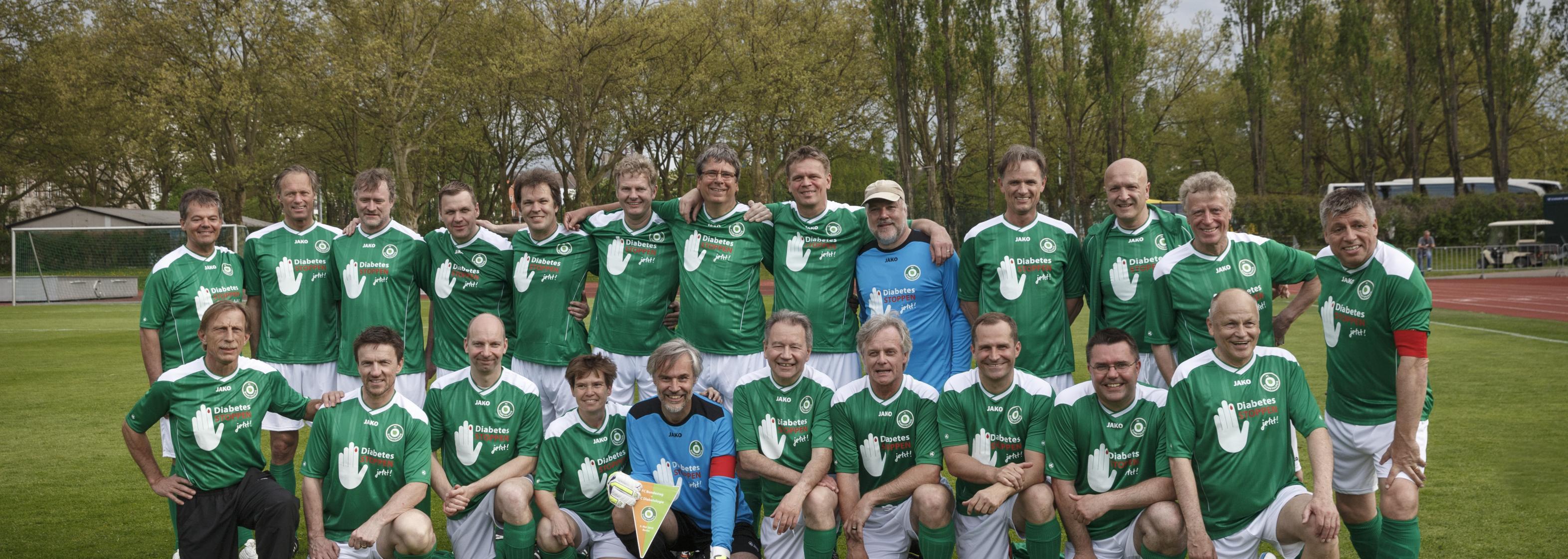 Benefiz Spiel 2015, FC Diabetologie Mannschaft