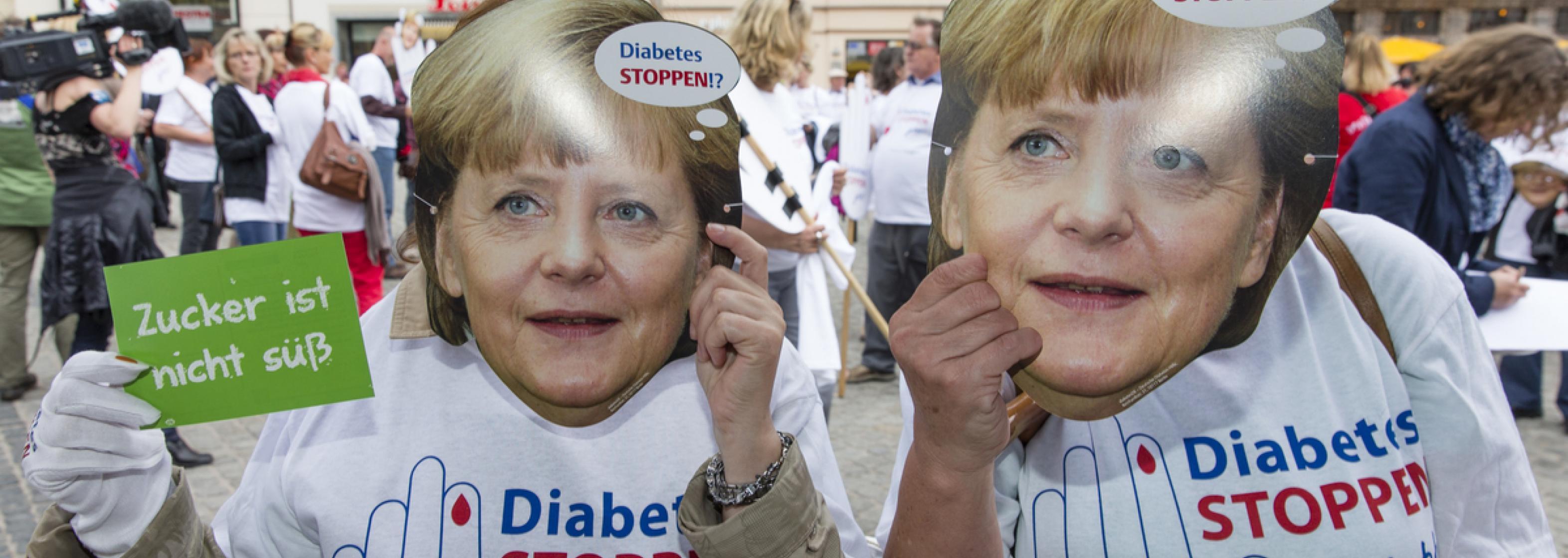 """Demo """"Diabetes STOPPEN - Jetzt!"""" am 9.5.2013 in Berlin"""