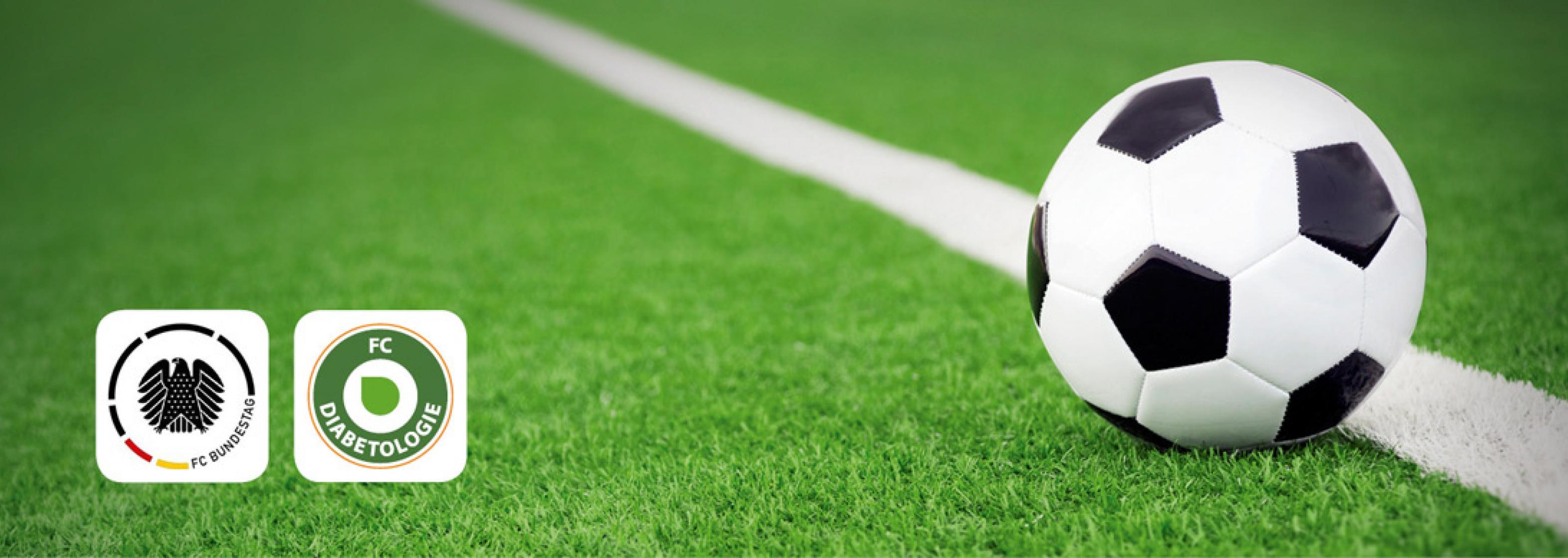 Grafik Fußballspiel FC Bundestag