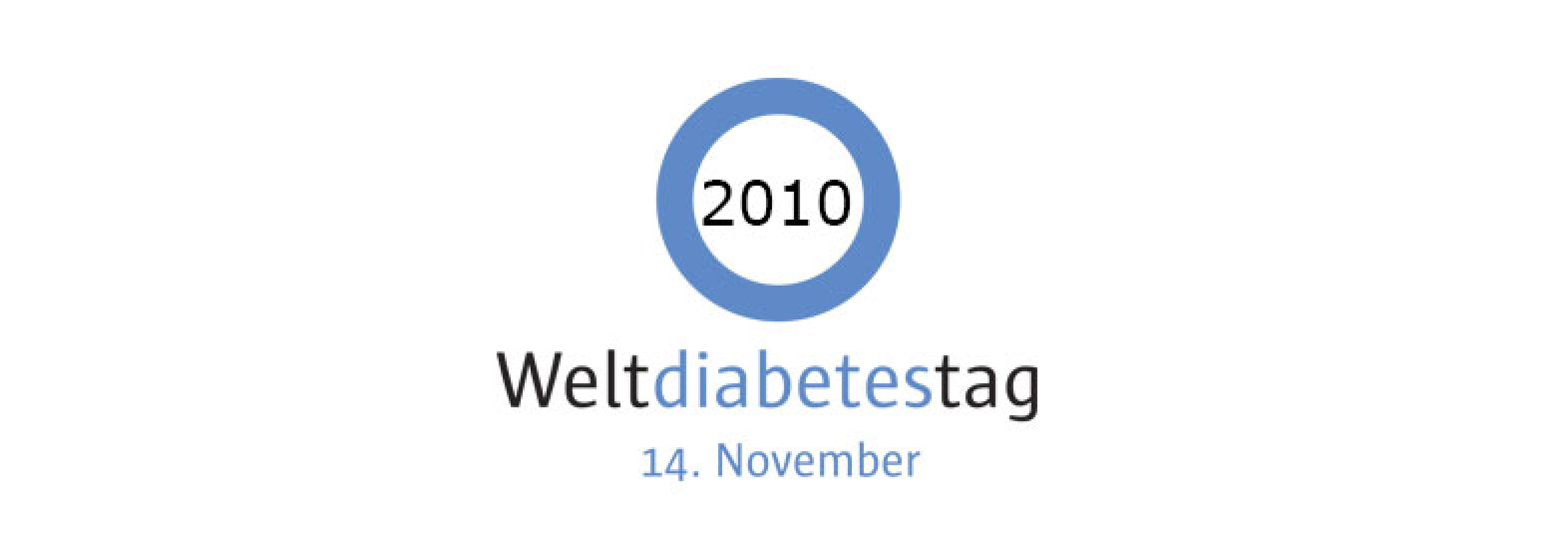 Hero-Bild kurz Logo Weltdiabetestag 2010