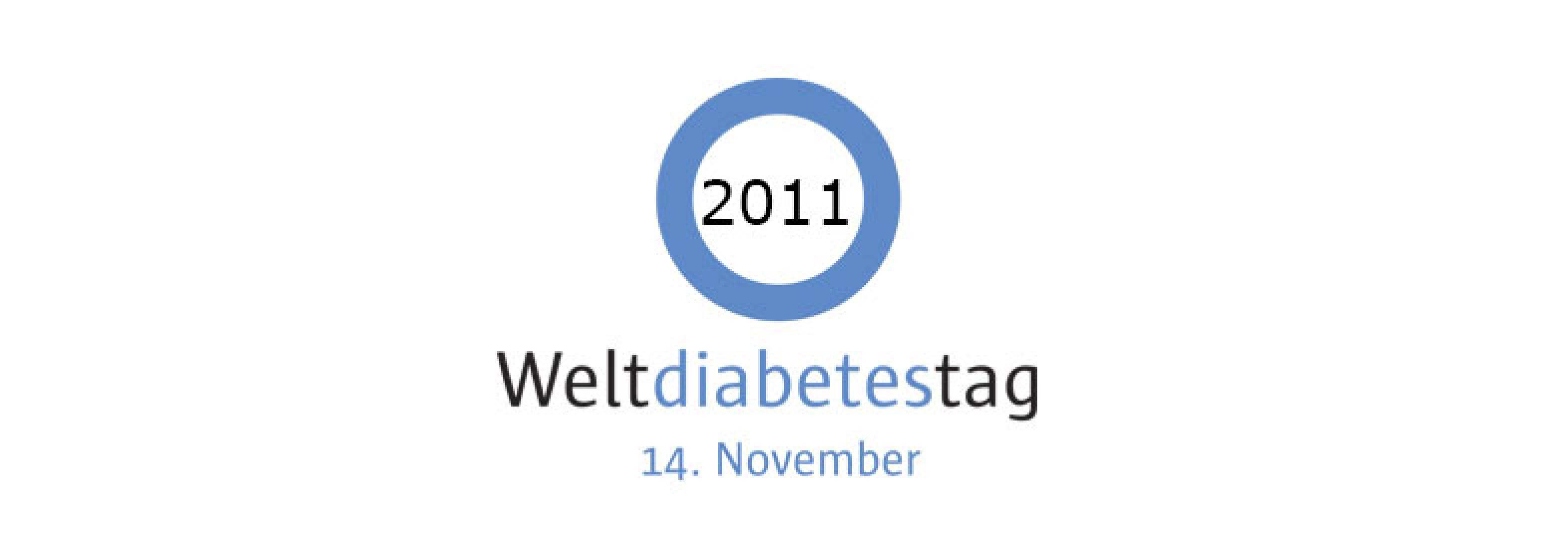 Hero-Bild kurz Logo Weltdiabetestag 2011