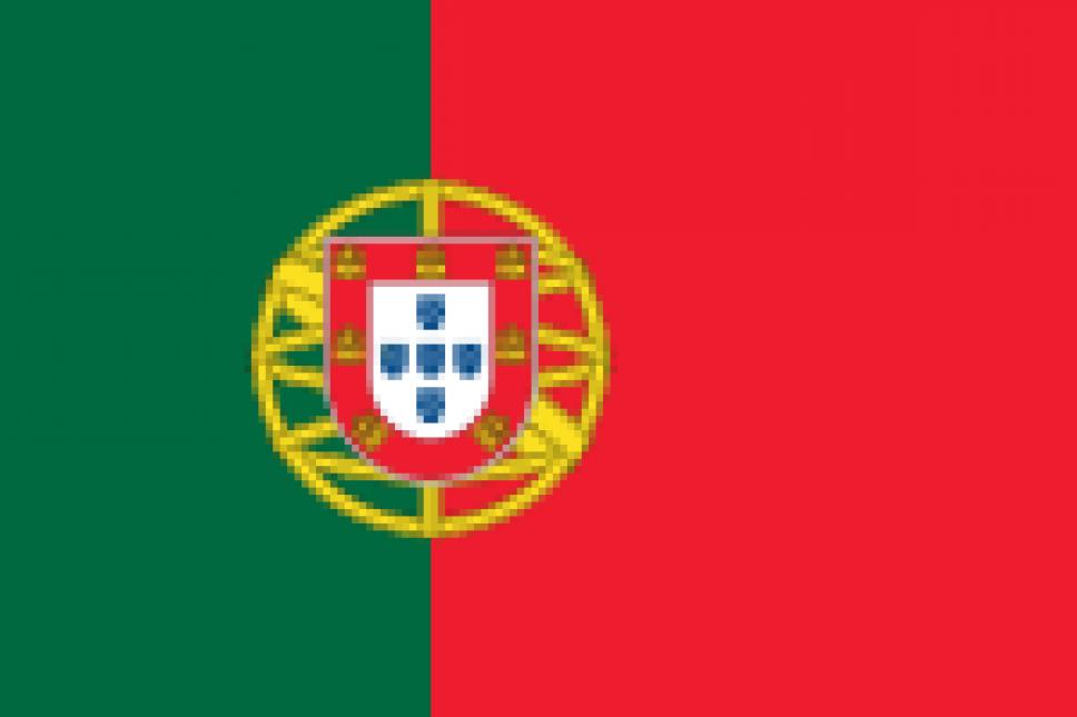 Flagge Protugal