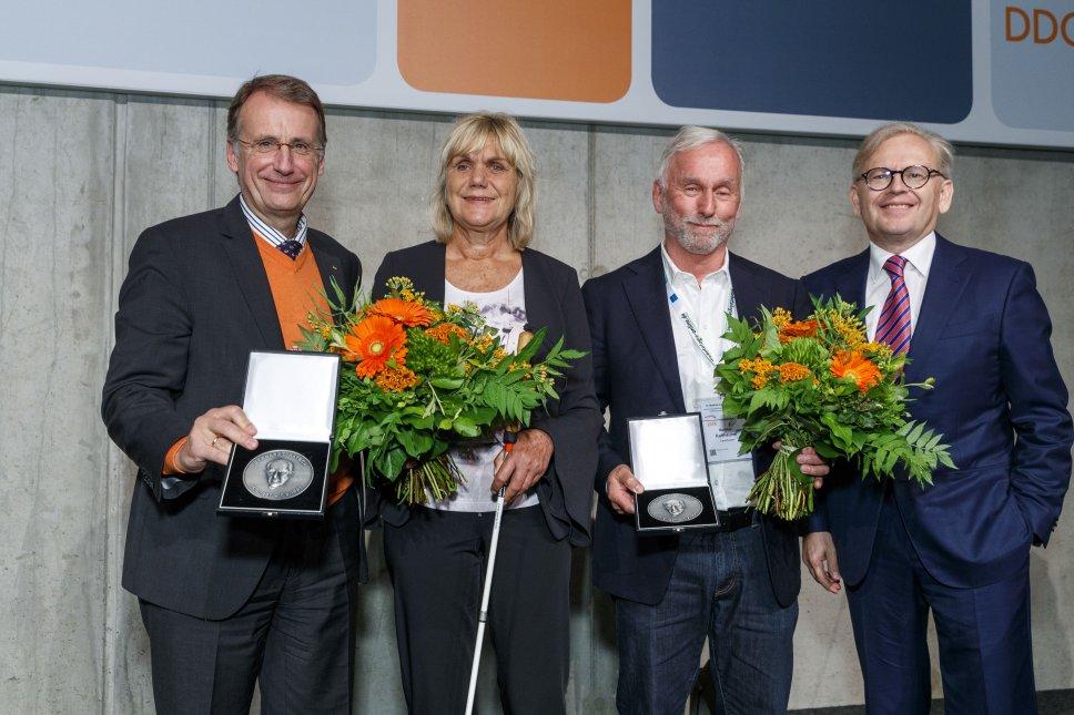 Diana Droßel, Preisträgerin der Gerhardt-Katsch-Medaille