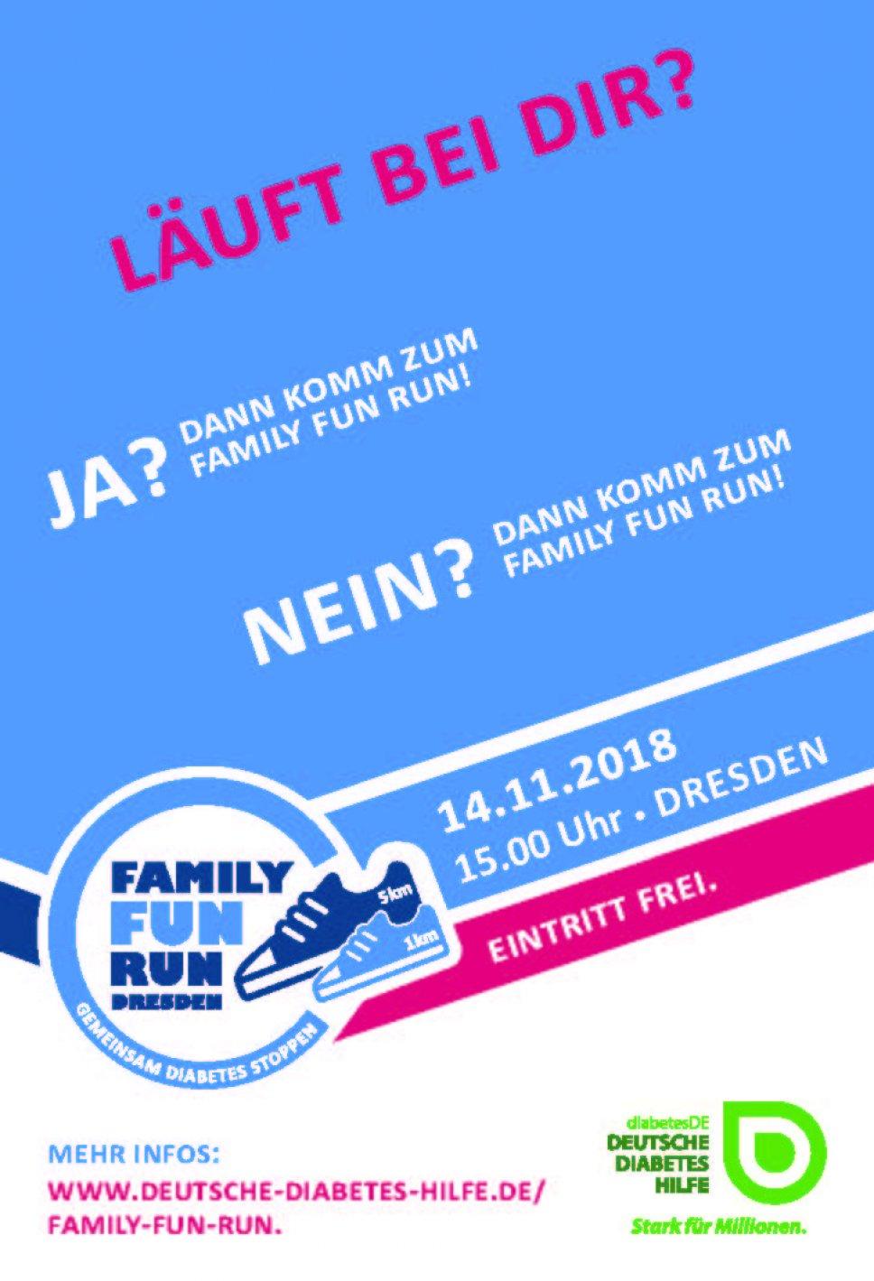 Anzeige Family Fun Run