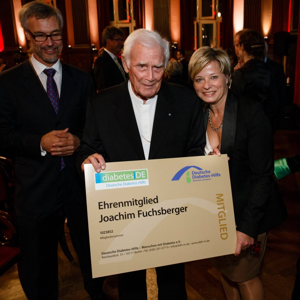 2. Diabetes-Charity-Gala, 18.10.2012 – Ehrenmitglied Joachim Fuchsberger
