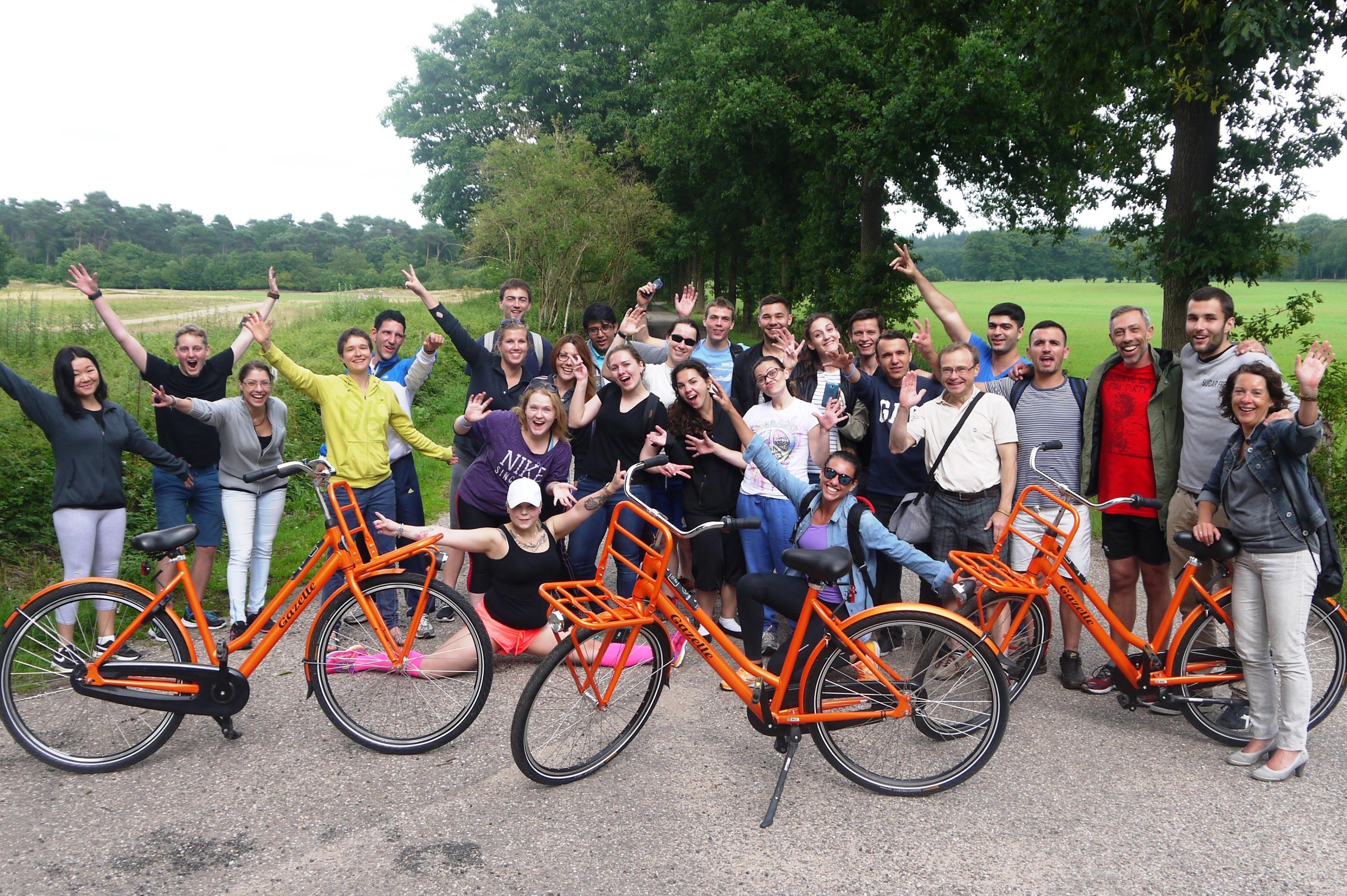 Summercamp Fahrradgruppe Snip Arnheim 2015