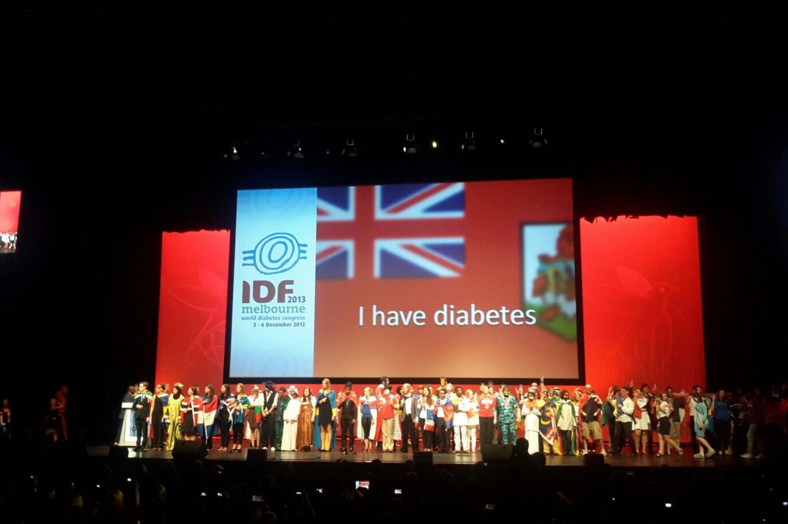 Weltdiabeteskongress 2013 Young Leaders Eroeffnung