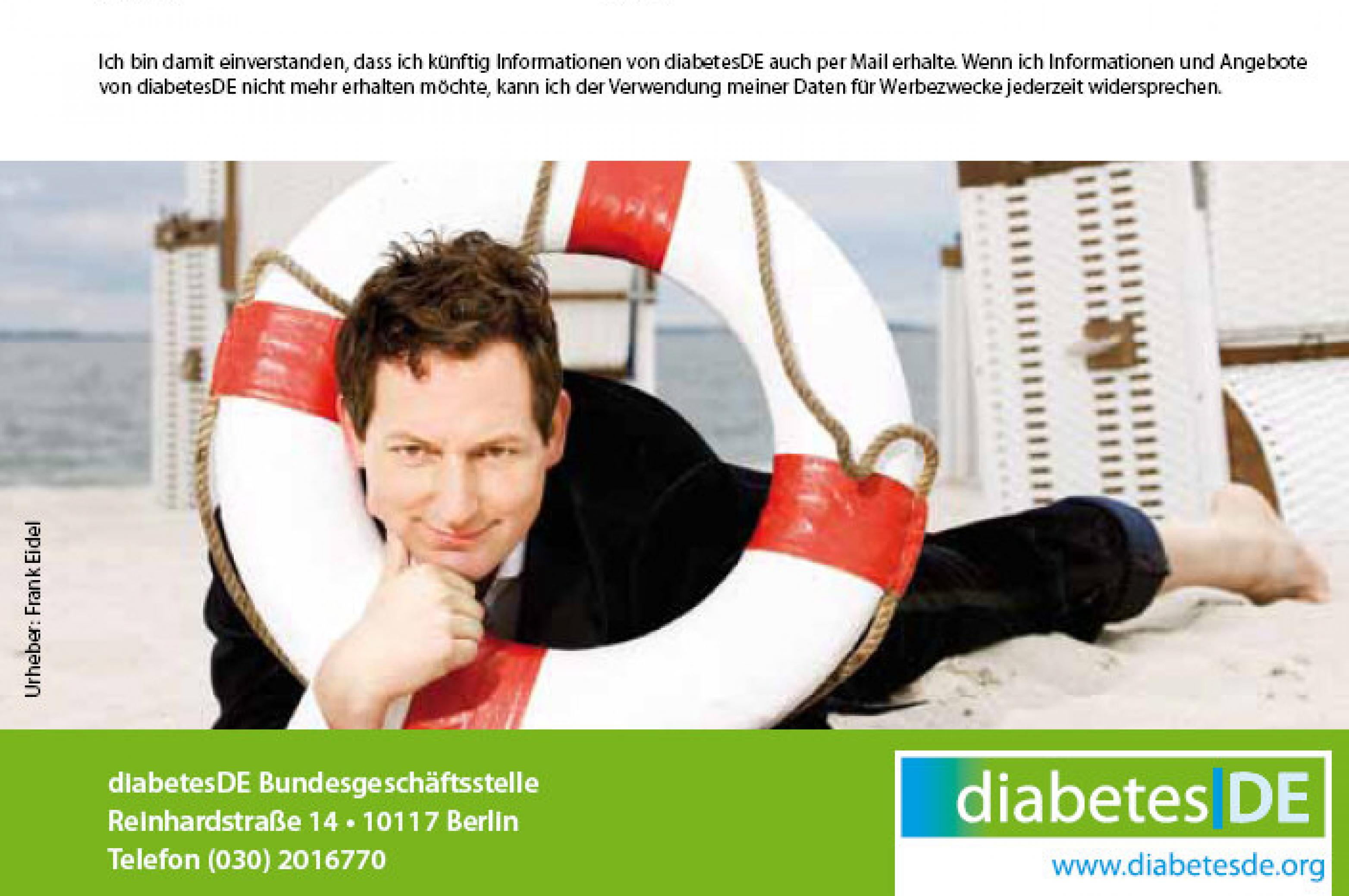 Zucker Flyer - DiabetesDE 2