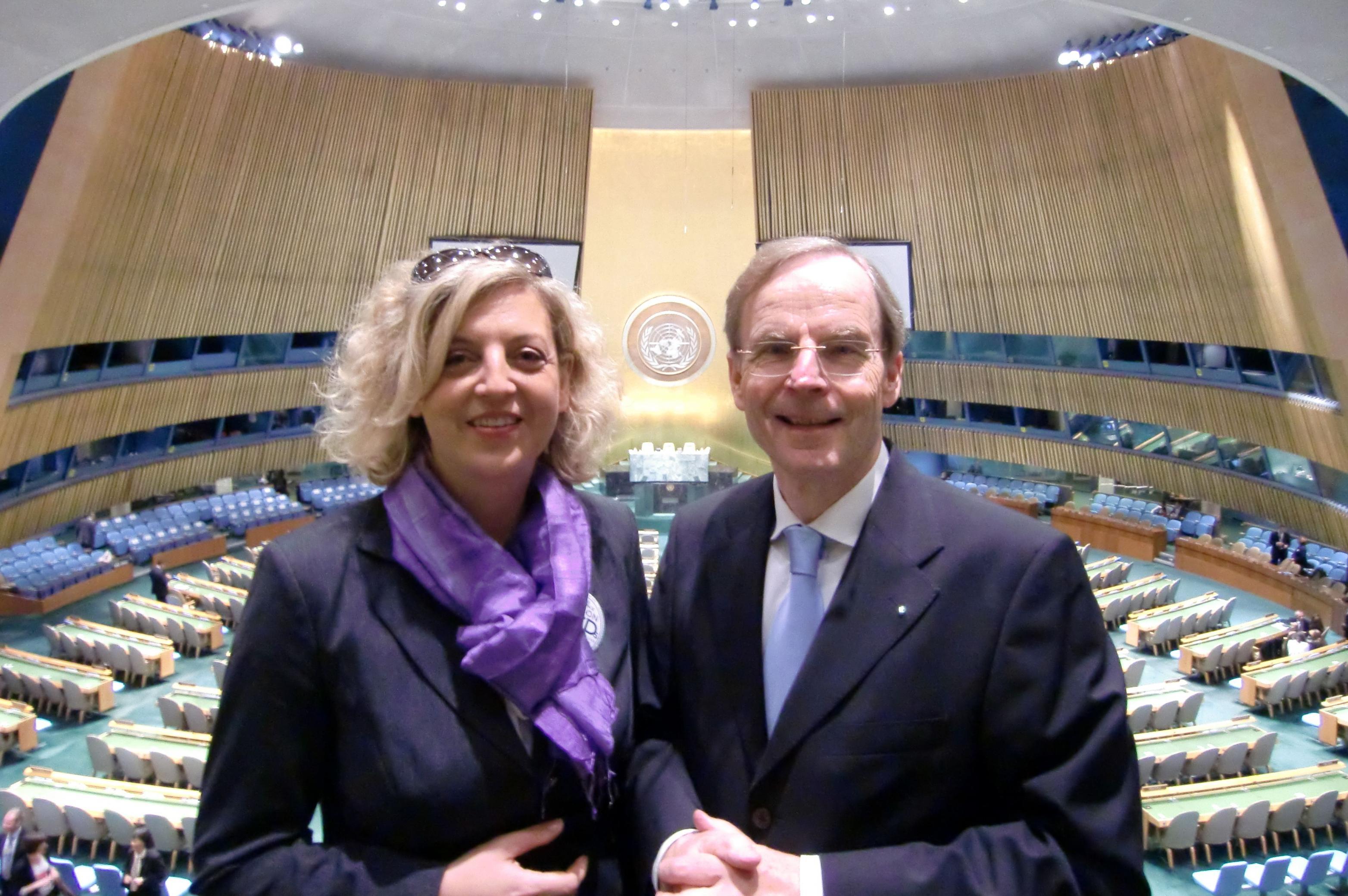 Frau Gerlach und Dietrich Garlichs UN