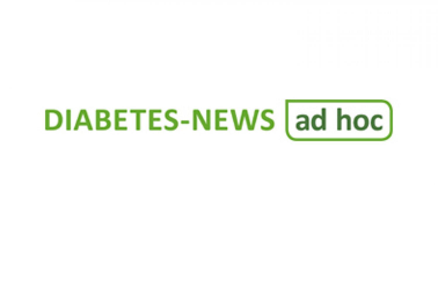 Logo Diabetes News ad hoc Teaser Startseite